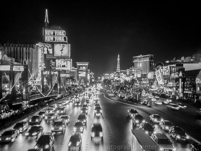 Las Vegas Streets at Night