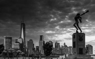 new york city street black & white photography