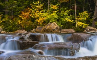 Fall Foliage Autumn Artistic Panorama Prints by Ranjay Mitra