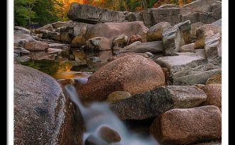 Kancamagus Highway Fall Foliage In New Hampshire