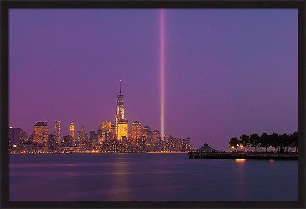 New York City World Trade Center Memory Light Fine Art Ranjay Mitra