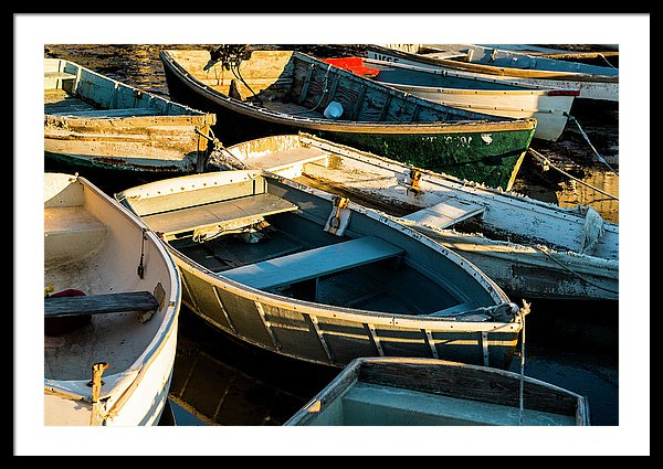 Maine Boats Fine Art by Ranjay Mitra