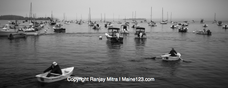 Artistic Gallery Photography by Ranjay Mitra misty-maine-morning-falmouth-harbor-panorama-1