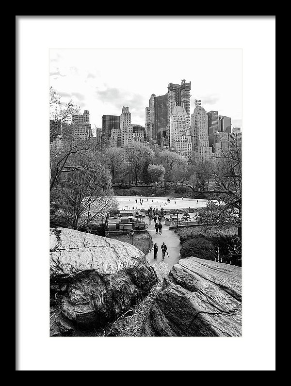 Central Park New York Fine Art by Ranjay Mitra